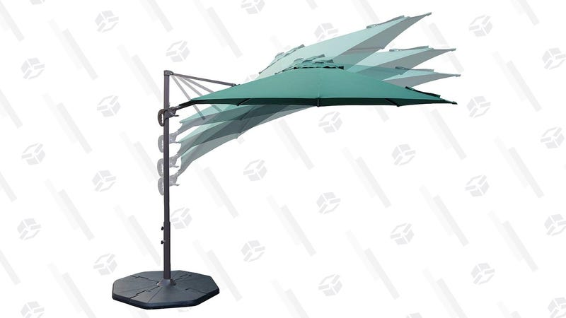 Le Papillon 10 ft Cantilever Umbrella | $98 | Amazon | Clip the $15 coupon and use code M4G5GWKK