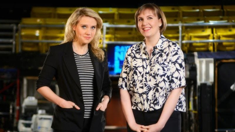 """Illustration for article titled Saturday Night Live: """"Lena Dunham/The National"""""""