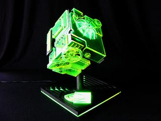 Illustration for article titled Borg-Like ION Cube PC Wins Nvidia's Case Mod Contest