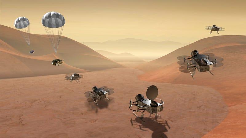 NASA decide misiones para 2020