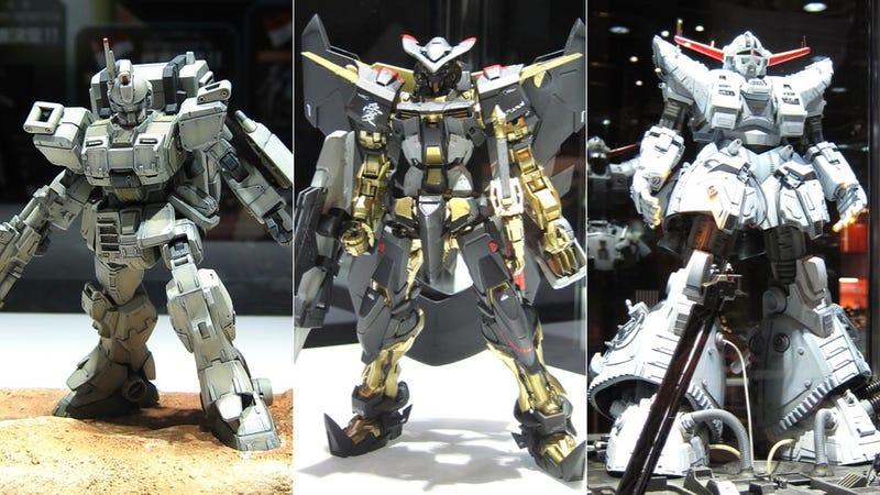 Illustration for article titled Awesome Gundam Models To Destroy Your Eyeballs