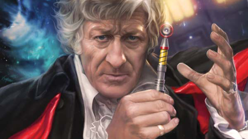 Illustration for article titled Legendary Doctor Who Writer Paul Cornell Is Bringing the Third Doctor to Comics