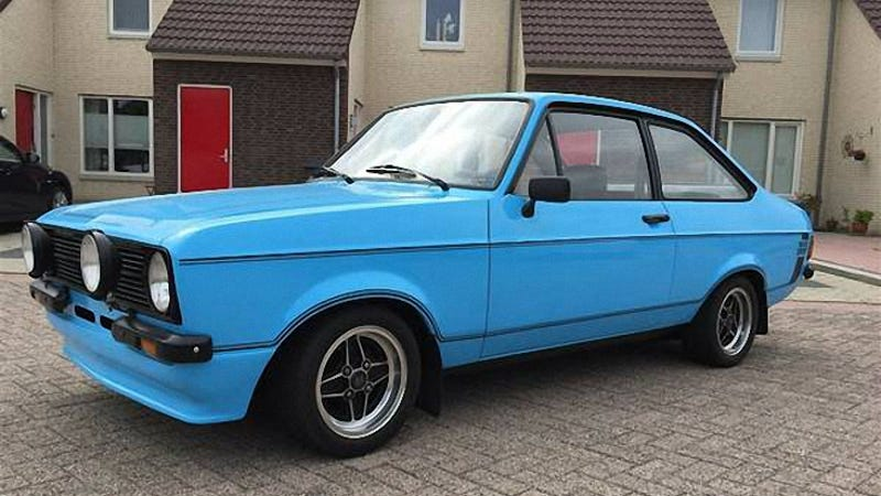 for 16 500 this 1975 ford escort 1600 sport is a rare. Black Bedroom Furniture Sets. Home Design Ideas