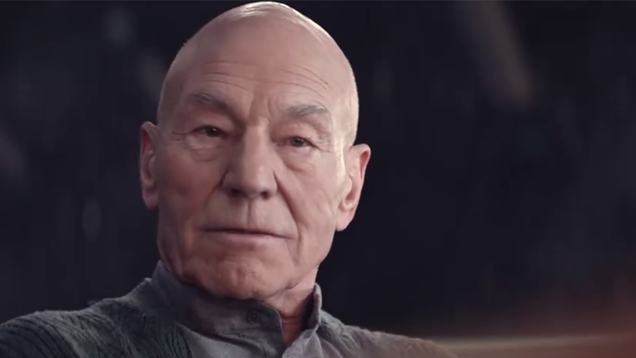 In a New Look at Star Trek: Picard, Jean-Luc s a Man on a Mission