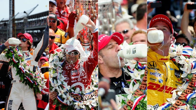 Illustration for article titled The Indy 500 Has Complete Intolerance For Lactose Intolerance