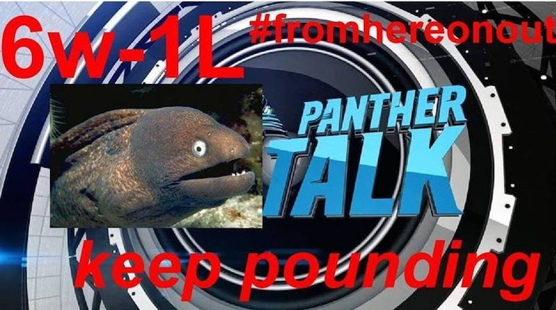 Illustration for article titled The Best And Dumbest Meme Is Unfolding On The Panthers' Facebook Page