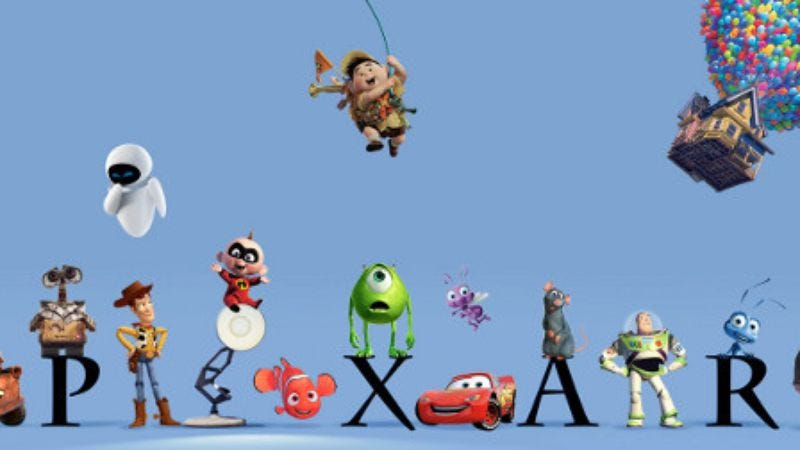 Illustration for article titled Read This: A grand unified theory connects all Pixar films in one timeline