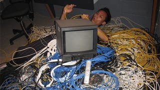 Illustration for article titled Five tips to get rid of your TV cable mess