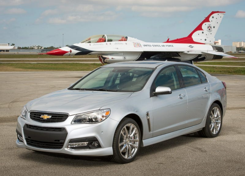 Illustration for article titled The Chevrolet SS