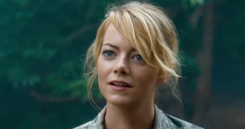 Emma Stone Playing a Half-Asian Character in Aloha ... Emma Stone Movies