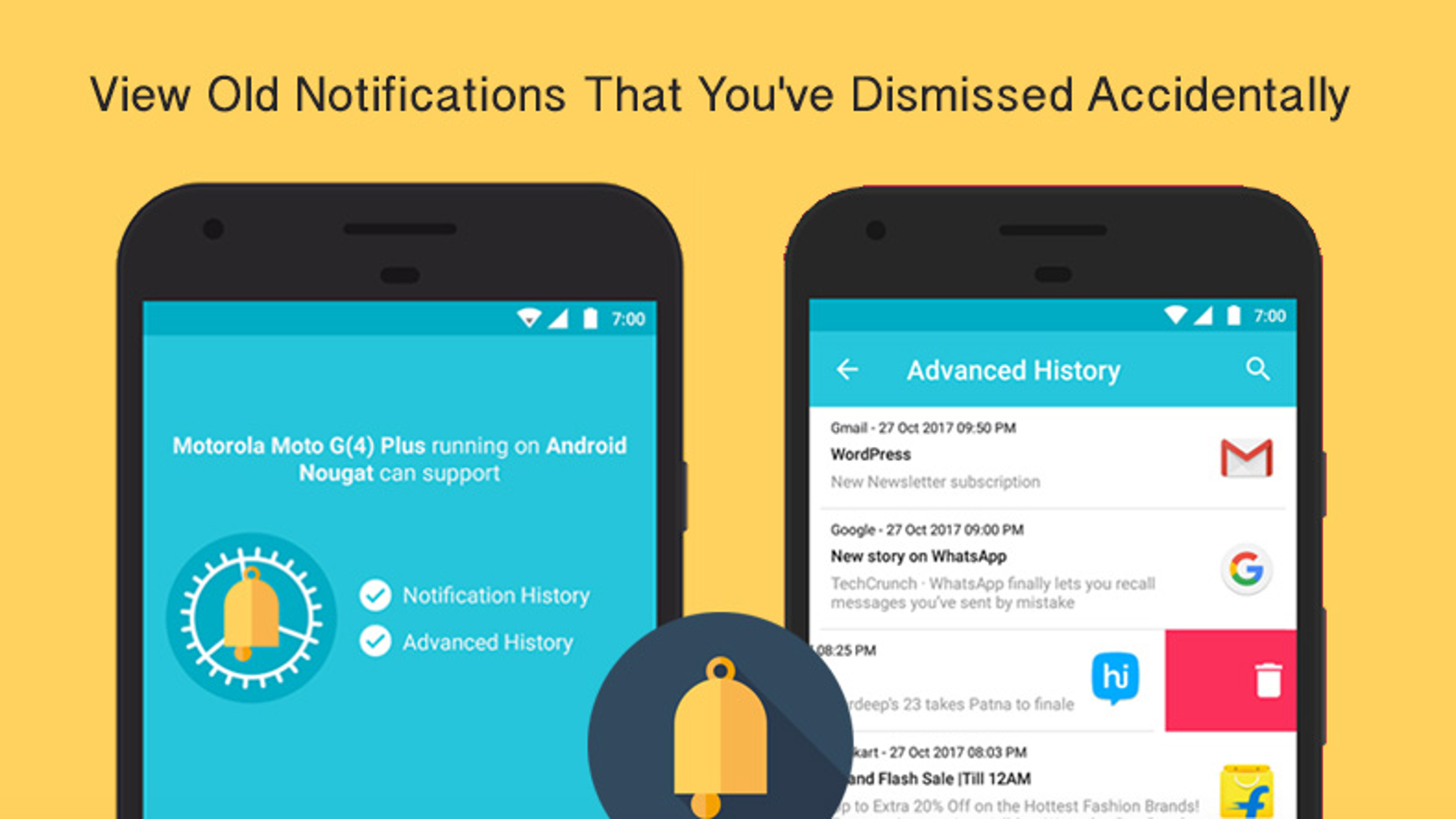 Restore Notifications You Accidentally Dismissed with This