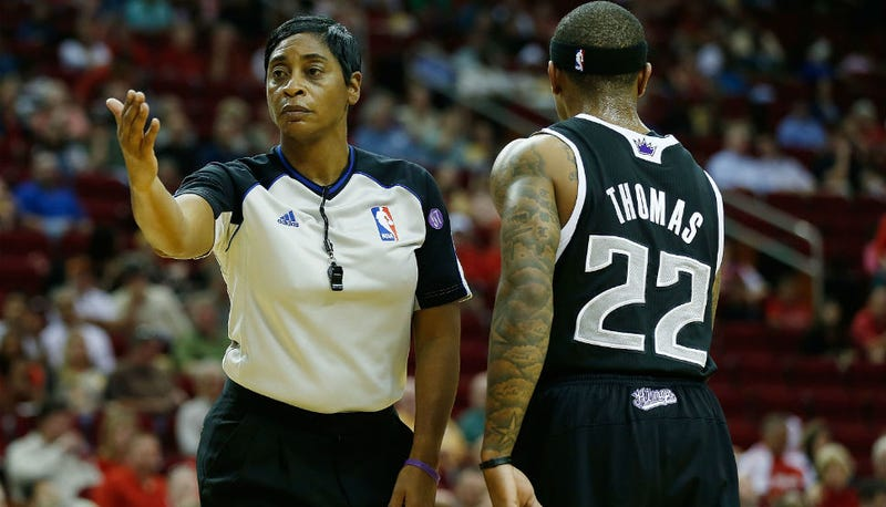 Illustration for article titled Meet The NBA's Only Female Referee