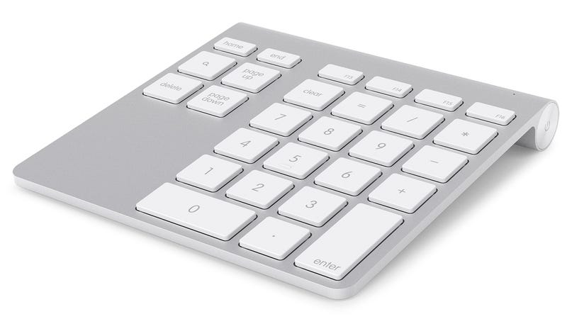Illustration for article titled A Matching Numerical Keypad For Your Wireless Apple Keyboard