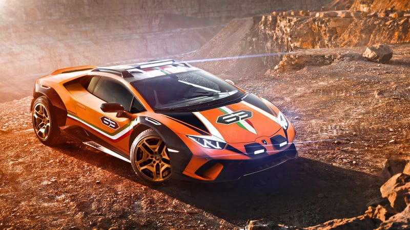 Lamborghini Is Actually Considering Putting Its Wild Off-Road Huracan Into Production