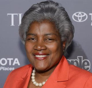 Donna Brazile in 2013Larry Busacca/Getty Images for Time Inc.