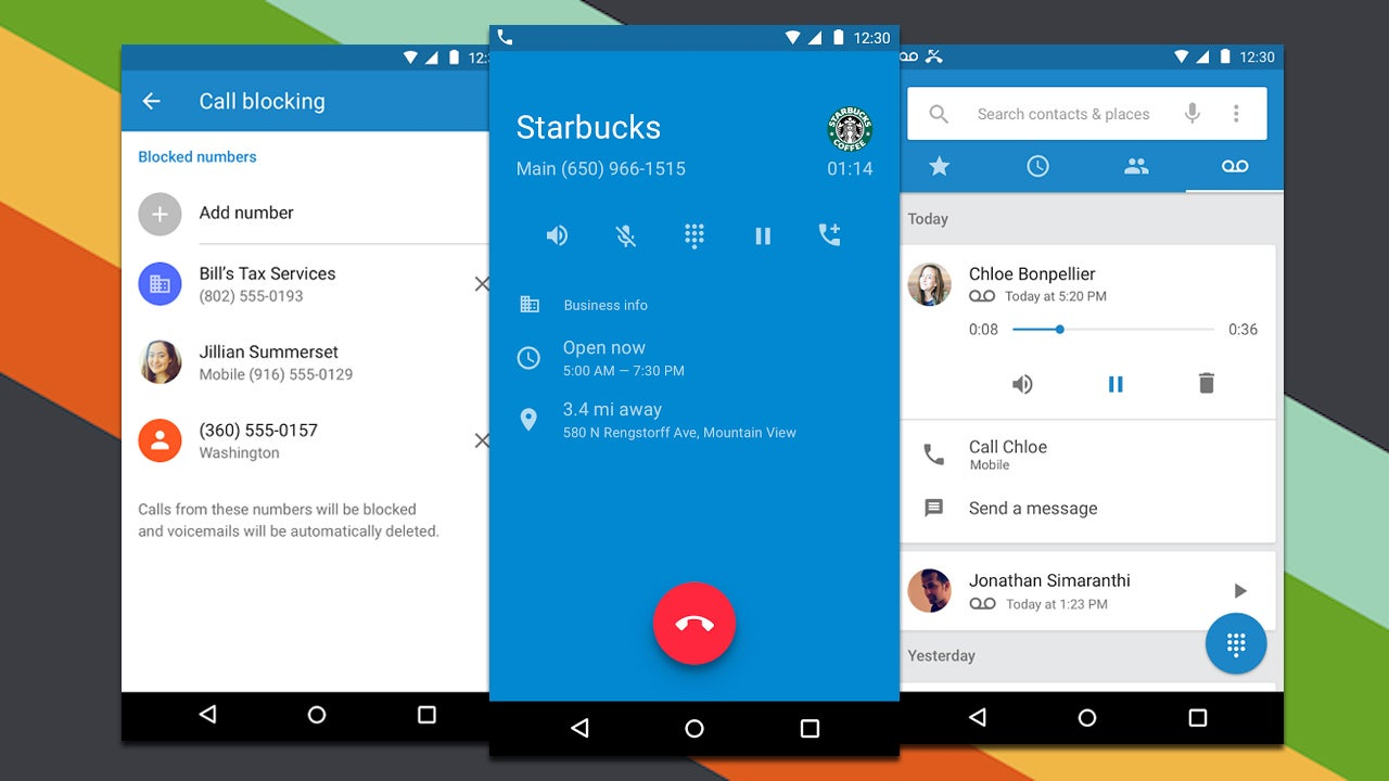 google released phone and contacts apps to the play store Contact in Windows 10 App