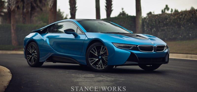 Illustration for article titled Stanceworks on the BMW i8