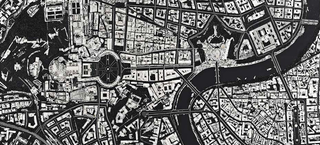 Illustration for article titled Damien Hirst's Latest Artworks Turn Scalpels Into City Maps