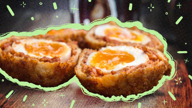 Illustration for article titled How to make Scotch eggs, a sausage-wrapped expression of brunch love