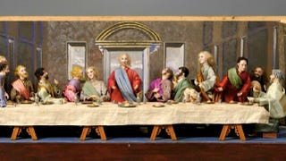 Illustration for article titled Who wants to own this creepy robotic version of da Vinci's The Last Supper?