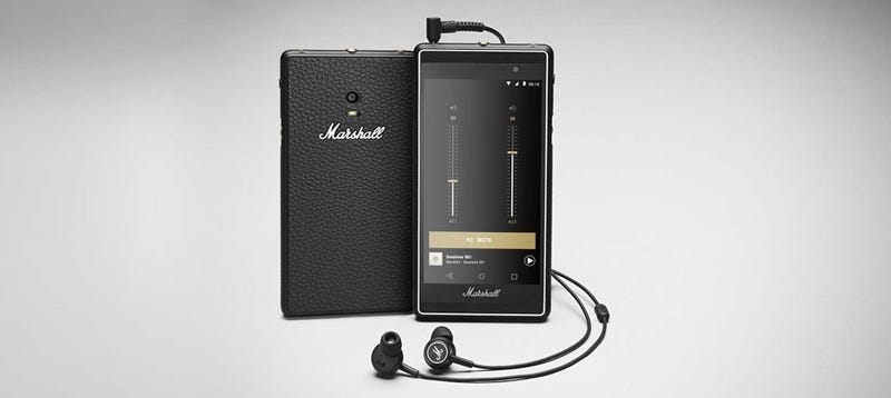 Illustration for article titled Marshall's Rock n' Roll Android Phone Actually Looks Awesome