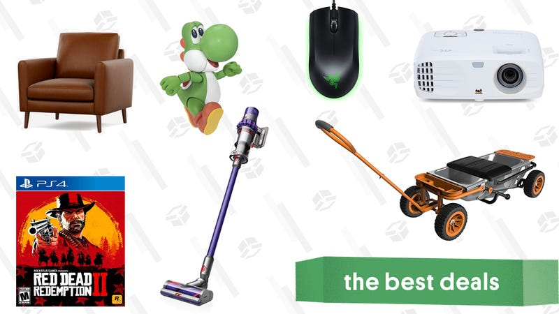 Illustration for article titled Wednesday's Best Deals: Dyson V10 Animal, Burrow Furniture, Red Dead Redemption 2, and More