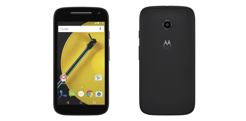 Illustration for article titled Filtrado al completo el nuevo smartphone Motorola Moto E: solo $99