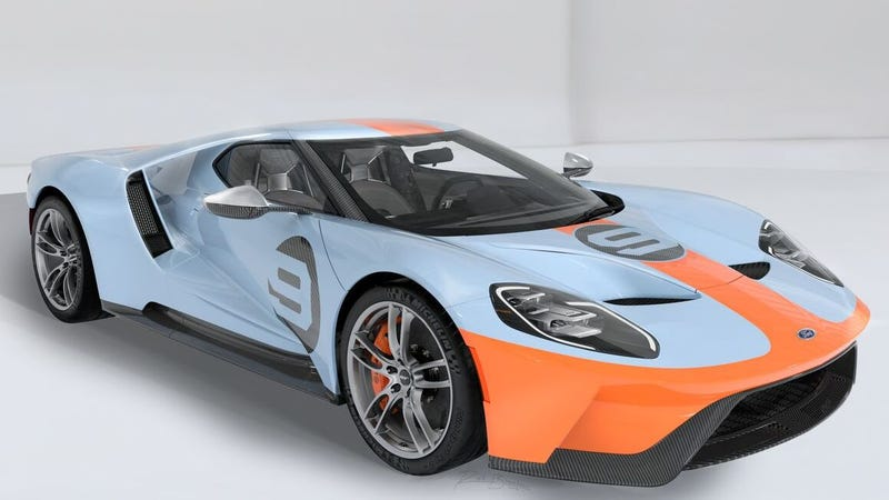 Illustration for article titled A Ford GT Other Than John Cena's Is Heading to Auction