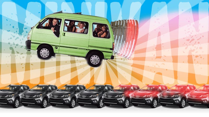 if you re a real grown up minivans are cooler than crossovers