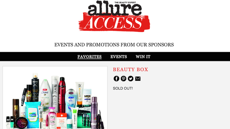 Illustration for article titled People Are Going Apeshit Over Allure's Beauty Box Disaster