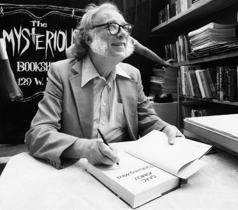 Brand New Isaac Asimov Essay Mulls the Origins of Creativity