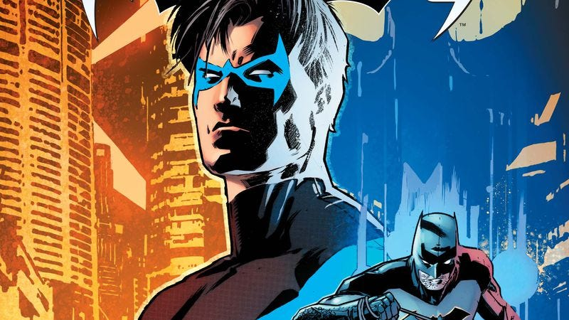 Illustration for article titled Dick Grayson is back in blue and black with DC's Nightwing
