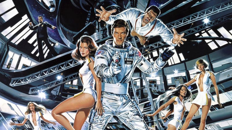 Moonraker is one of several old Bond movies coming to streaming in November.