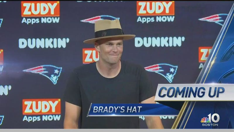 52ac4c79 Check Out Tom Brady And His Stupid Hat