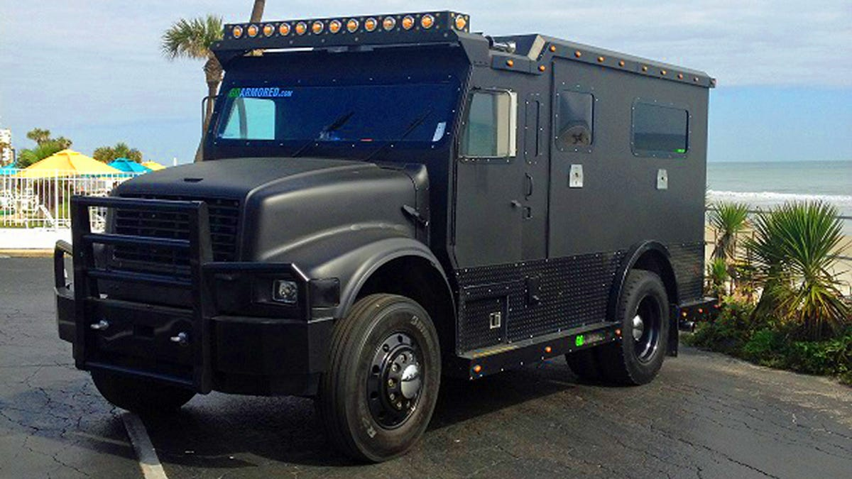 Used Armored Bank Trucks Become Hilariously Expensive Rap Star Limos