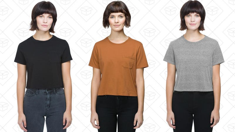 Richer Poorer The Boxy Crop Tee