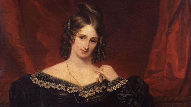 Mary Shelley wrote on spec.