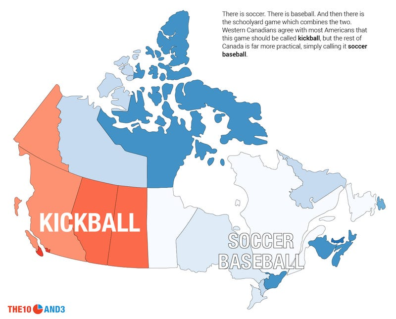 "Illustration for article titled Attention: Half Of Canada Calls Kickball ""Soccer Baseball"""