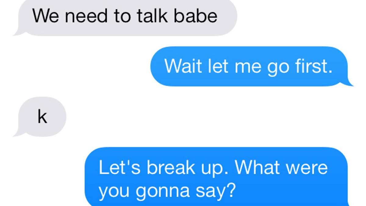 5 Outrageously Awkward Text Message Breakups