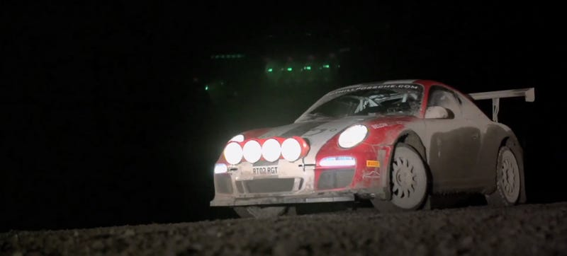 Chris Harris Drives A Porsche 911 Rally Car That Puts Baja Bugs To Shame