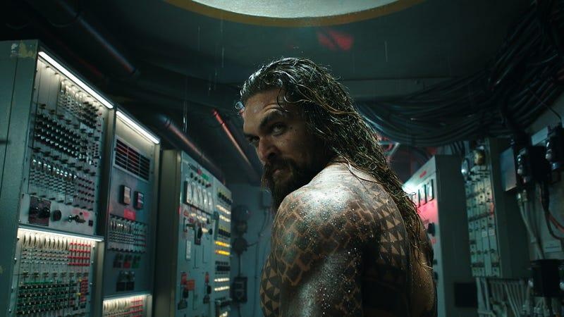 Aquaman (Jason Momoa), approvingly.