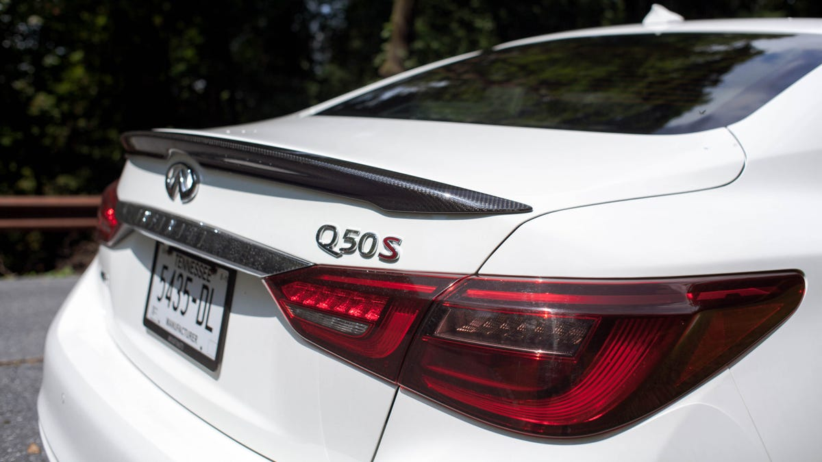 The 400 HP 2018 Infiniti Q50 Red Sport AWD Is So Close to