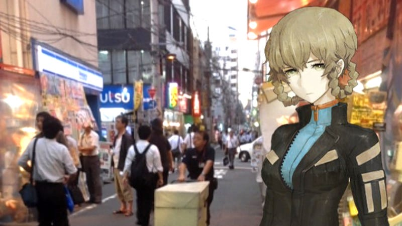 Illustration for article titled The Steins;Gate AR Game Gives You a Tour Of Akihabara