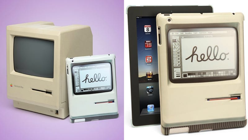 Illustration for article titled Double Take: An iPad Case That's a 1984 Mac