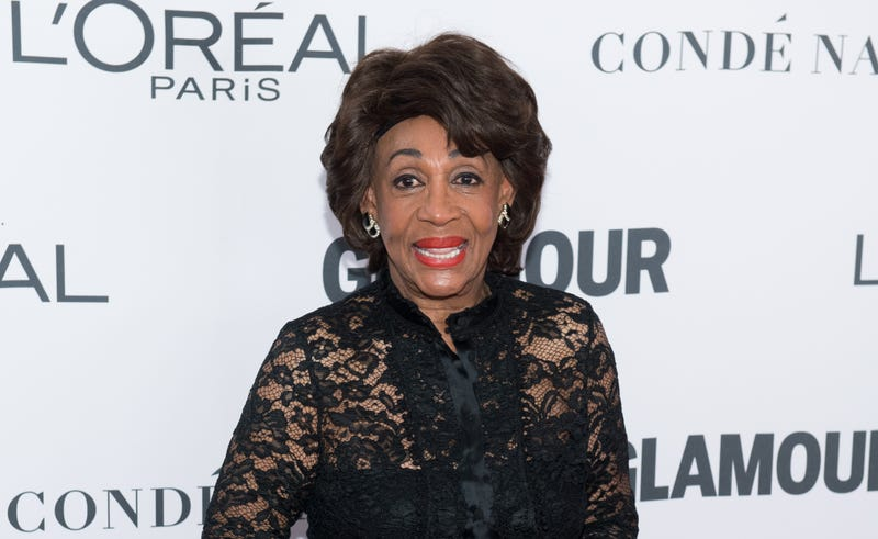 Rep. Maxine Waters at the 2017 Glamour Women of the Year Awards at Kings Theatre in New York City on on Nov. 13, 2017 (Noam Galai/WireImage)
