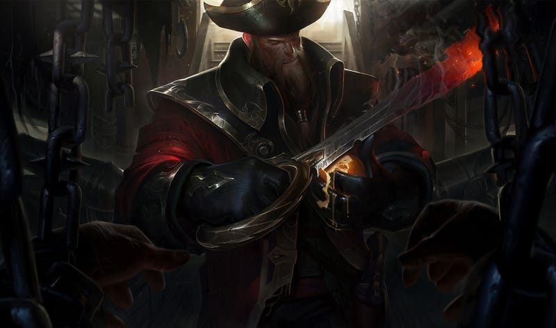Illustration for article titled League Of Legends Is Getting A Pirate-Themed Makeover
