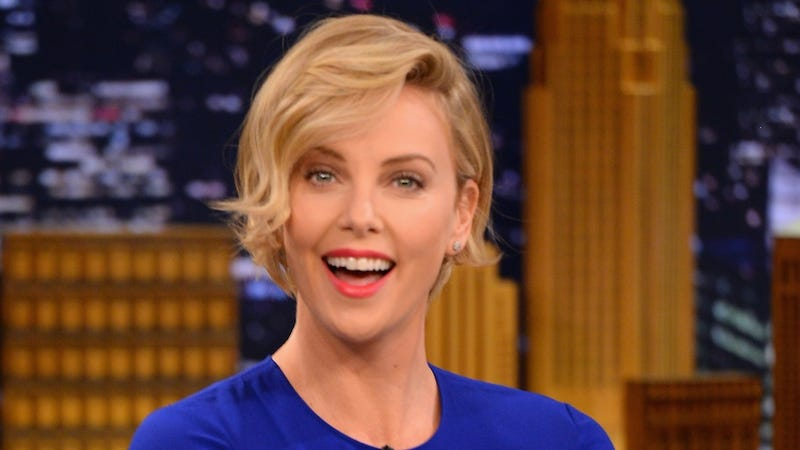 Illustration for article titled Charlize Theron Is Perfectly Happy Being Unmarried At 38, Thank You