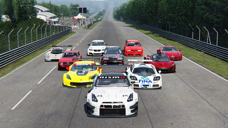 Illustration for article titled In my dream racing game...