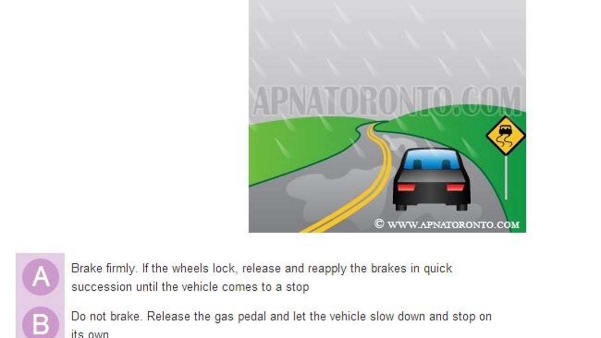 mva learners permit practice test not timed