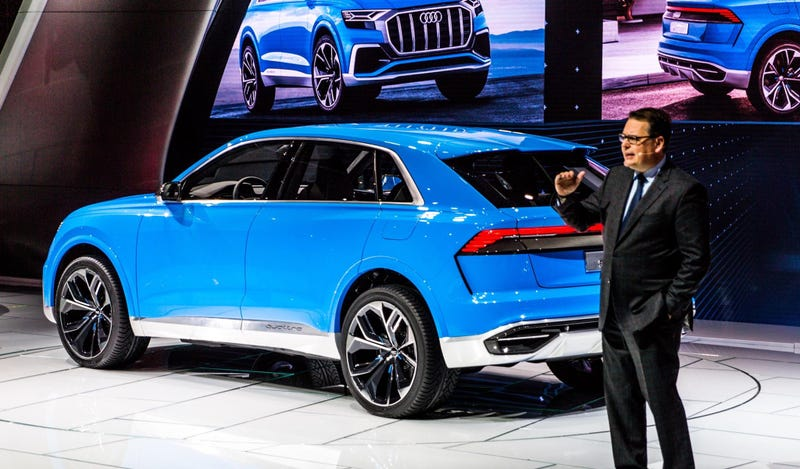 The Audi Q Concept Is The Gigantic Luxury Audi SUV The Buyers Demand - Audi sub
